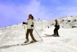 adult private course with ski lesson in val d'isere