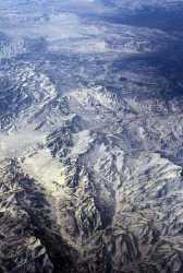 the andes from air plane