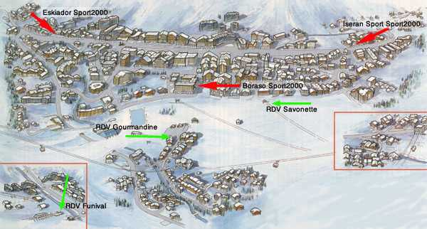 Where to find skilessoncom ski school in Val dIsere